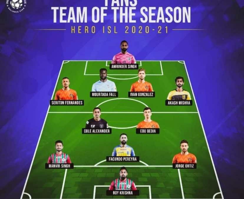 El Mariscal en el equipo del año de la afición!!!