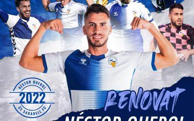 Nestor Querol renueva una temporada más