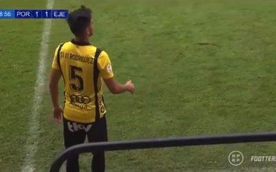 Javi Rodríguez, debuta en la categoría de bronce del fútbol español!