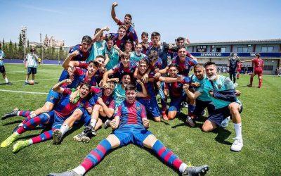 Juanki y Carlos, Campeones de Juveniles con el Levante!